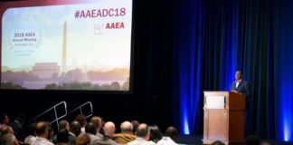 President of the African Development Bank Group, Akinwumi Adesina, Africa, Agriculture, Nigeria, African universities, Technologies for African Agricultural Transformation, TAAT, 2018 Agricultural and Applied Economics Association (AAEA) Annual Meeting, US,