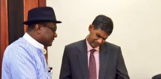Executive Secretary of Nigerian Content Development and Monitoring Board (NCDMB), Engr. Simbi Wabote, Indian High Commissioner to Nigeria, His Excellency, BN Reddy, NCDMB, ICT, the Indian Institute of Technology, and Indian Chamber of Commerce, Mr. Abdulmalik Halilu GM, PRS, Engr. Abayomi Bamidele, Nigerian oil and gas