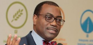 African Development Bank President, Akinwumi Adesina, African Development Bank, ADB, Nigeria, Nigerian Defence Academy, West African nation, Muhammadu Indimi, Chairman, Oriental Energy, Federal Republic of Nigeria, Major General Adeniyi Oyebade, Commandant of the Academy