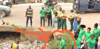 MD LAGESC, Segun Osifeso Others Clean up Agege Drainage