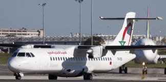 ROYAL AIR MAROC FLIGHT'S BAGGAGE CABIN DISCOVERED OPEN WHILE LANDING