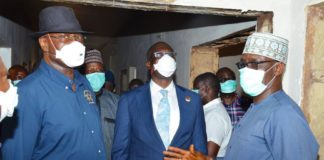 Sylva Hands Over Ambulances to Sec. to Government of Federation