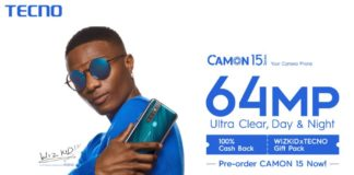 TECNO Mobile Brings Wizkid and Guinness World Record™ Title to Africa's first online launch