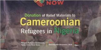 COVID-19: Cameroonian Refugees in Nigeria to Get Support from Africa Now Foundation